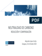 Neutralidad Carbono Reduccion Compensacion