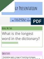 strategy presentation 2