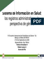 Sistema de La Informacion en Salud