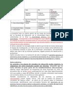 La Presente Tesis Se Inserta Dentro de Las Líneas de Investigación Propuestas Por La Facultad de Educación de La Universidad Mayor en El Año 2015