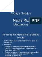 MP 7- Media Mix Decisions