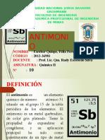 Antimonio