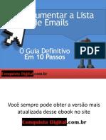 Como Aumentar a Lista de Emails