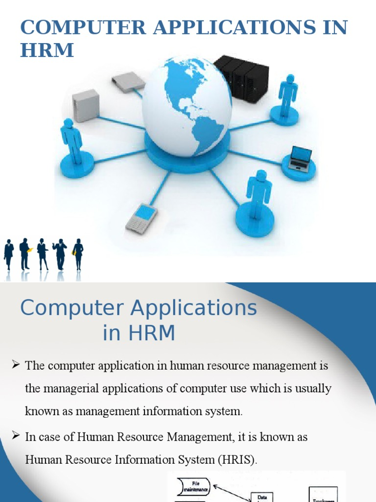 Hrm computer application human resource management employment ccuart Image collections