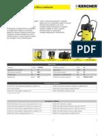 Aspiratore solidi-liquidi Karcher NT 70-3 Tc