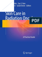 Skin Care in Radiation Oncology