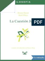 La Cuestion Judia - Bruno Bauer