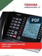 Toshiba IP5000 Series Featurephone User Guide