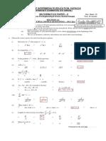 Math II Mt17