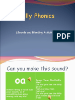 Jolly Phonics Group 5 Sounds and Blending