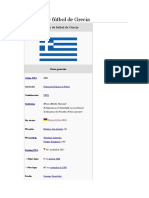 Selección de Fútbol de Grecia