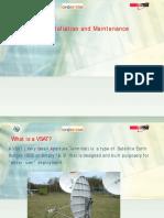 VSAT Installation and Maintenance