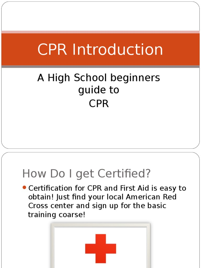 Cpr And First Aid Powerpoint Cardiopulmonary Resuscitation First Aid