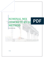 Nominal Mix Design by Dlbd Method