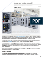 Assemblies of Switchgear and Control Panels 1