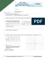 Cours Math - Chap 6 Analyse Fonctions de tpe f(x)=ax²+bx+c  - 2ème Sciences (2009-2010) Mr Abdelbasset Laataoui  www.espacemaths.com