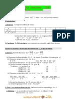 Cours - Math Les Fonctions - 2ème Sciences (2010-2011) Mr Youssef Boulila