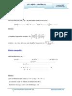 Cours Math - Chap 1 Algèbre Calculs Dans IR - 2ème Sciences (2009-2010) Mr Abdelbasset Laataoui Www.espacemaths.com