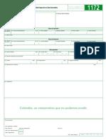 Solicitud Inspeccion en Zona Secundaria 1172-7-0