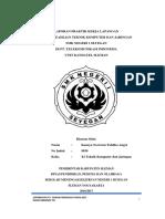 Laporan PKL PT. Telekomunikasi Indonesia Oleh Kanaya Novivian Tabitha Angel