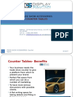 Trade Show Accessories-Counter Table