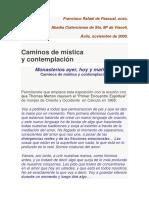 Textos Monásticos - Articulo de Un Trapense Francisco Rafael de Pascual