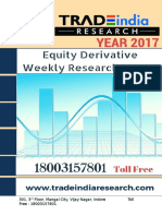 Weekly Derivative Prediction Report for 17-21 Apr 2017 by TradeIndia Research