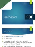 AMOM - Dislocations