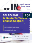 Testbook Win Free Issue for SBI PO 2017 Preparation (English)