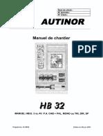 HB32 (BG15) (Version allégée) -FR- du 05 06 01 (7652)