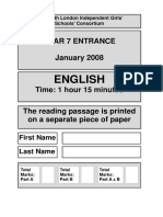 2008 English