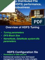 HDFS Performance