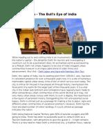 Delhi Tourism - The Bull's Eye of India