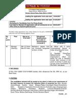 Punjab National Bank Recruitment Notification Manager (Security) 2017