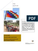 Serie Efemérides Diversidad Cultural 3