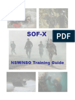 SOF X Training Guide