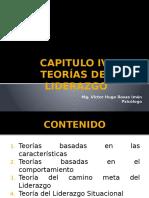 CAPITULO IV Teorias Del Liderazgo