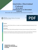19deabril_DíadelaConvivenciaenlaDiversidadCultural