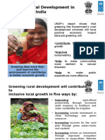 -# Greening_rural Dev in India