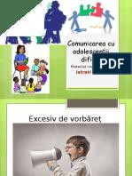 Comunicarea Cu Adolescenții Dificili