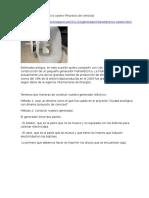 Generador Hidroeléctrico Casero