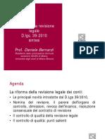 Riforma Della Revisione Legale - D.lgs. 39-2010_sintesi
