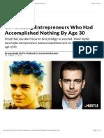 10 Amazing Entrepreneurs