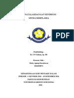 Referat Penatalaksanaan Sindrom Mielodisplasia