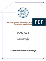 25th International Conference on Computer Theory and Applications, ICCTA 2015, 24-26 October 2015, Alexandria, Egypt