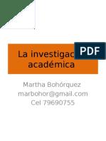 Enfoques de La Investigacion
