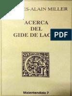 Acerca Del Gide de Lacan [Jacques-Alain Miller]