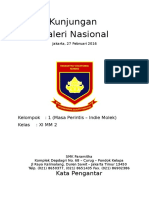 Laporan Kunjungan Ke Galeri Nasional SMK Paramitha Jakarta