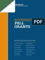 Advocacy Rethinking Pell Grants Report