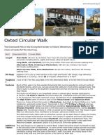 Oxted Circular SWC Walk 63